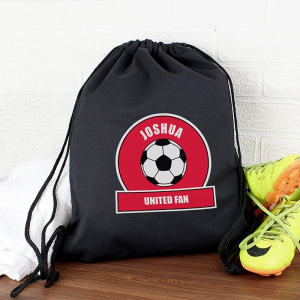 Red Football Fan Swim & Kit Bag