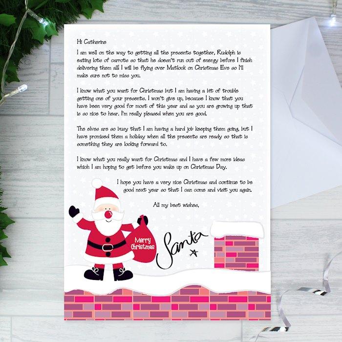 Rooftop Santa Letter