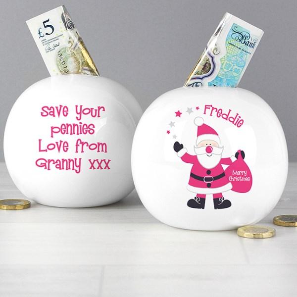 Santa Money Box