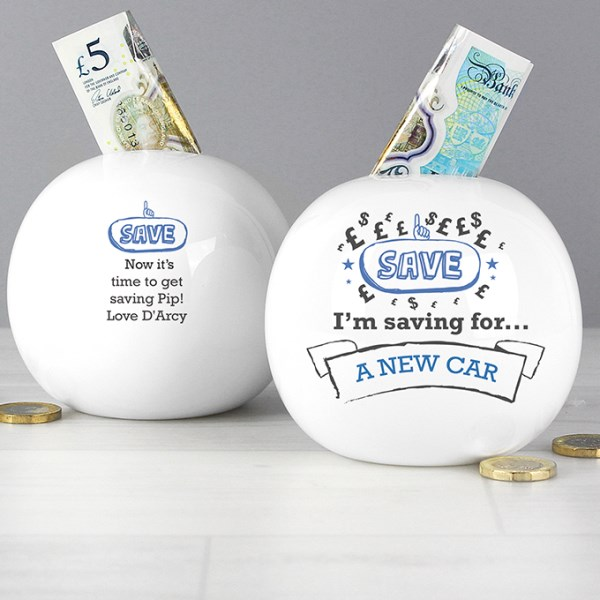 Saving For Money Box
