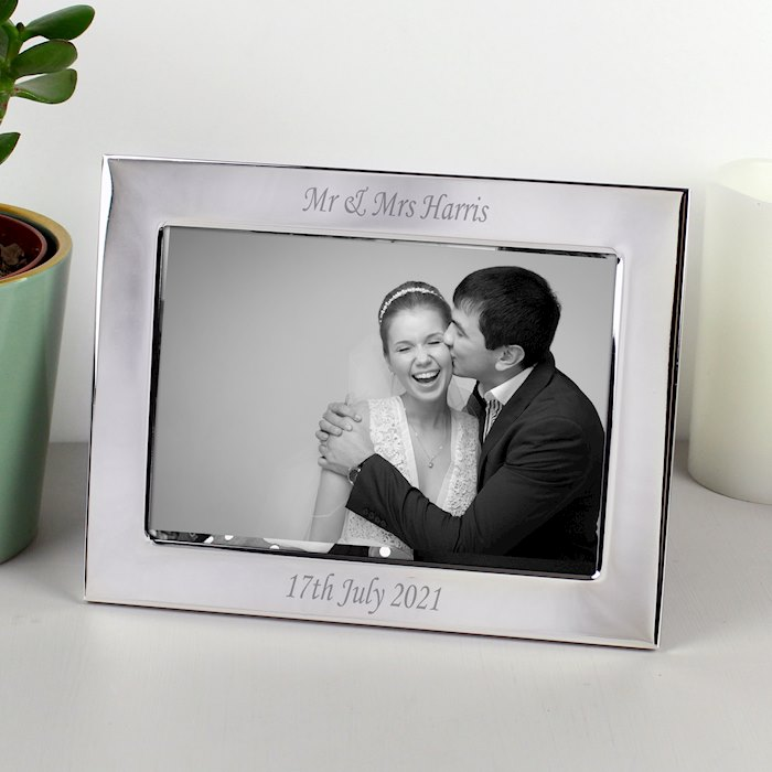Silver Plated 7x5 Landscape Photo Frame
