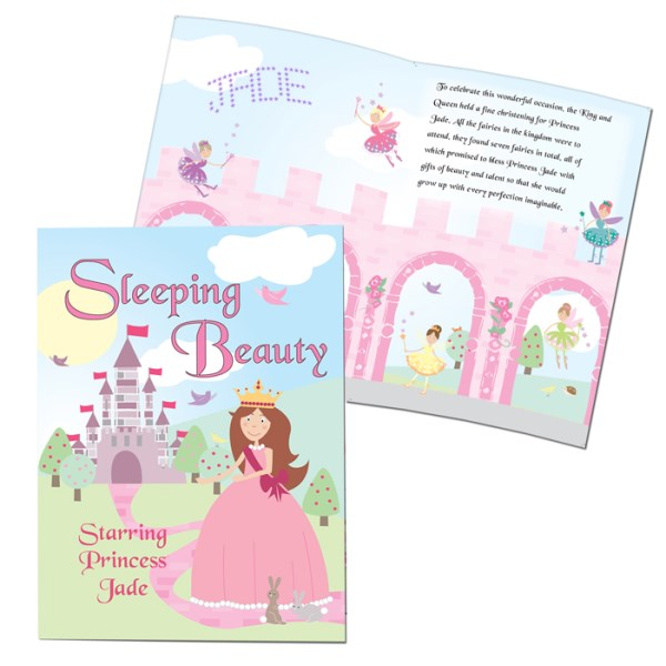 Sleeping Beauty Story Book