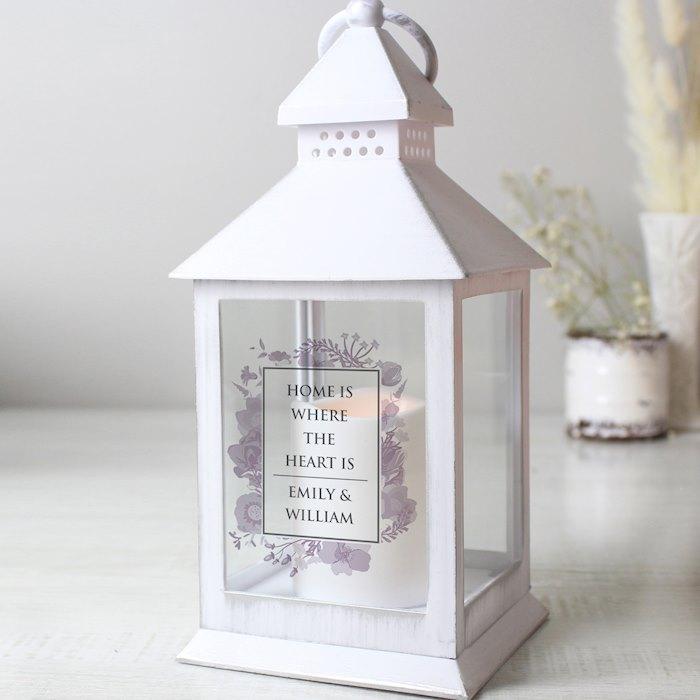 Soft Watercolour White Lantern