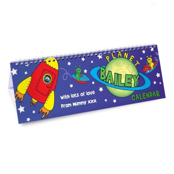 Space Desk Calendar