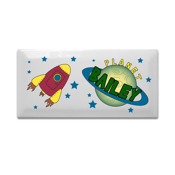 Space Door Plaque