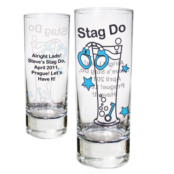 Stag Do Shot Glass