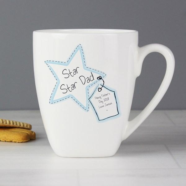 Star Stitch Latte Mug