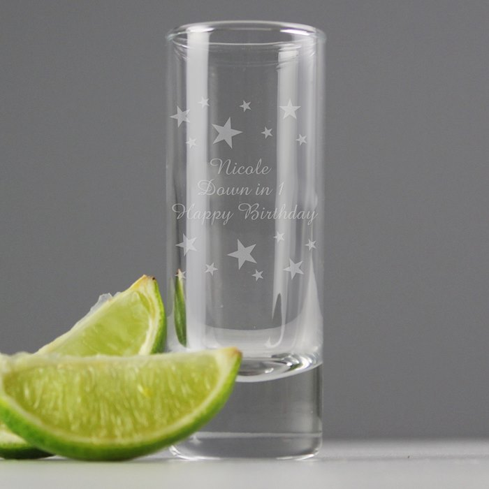 Starry Shot Glass