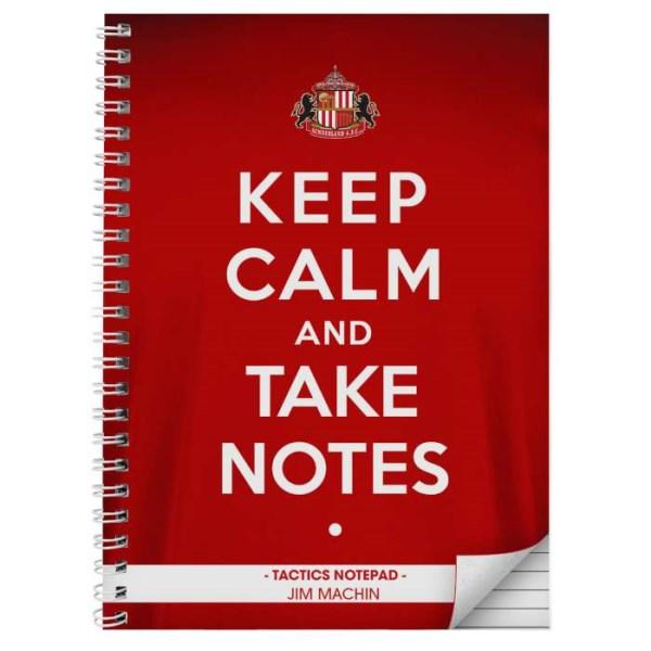 Sunderland Keep Calm A4 Notebook