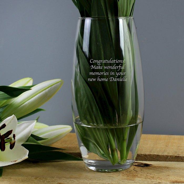 Personalised Bullet Vase