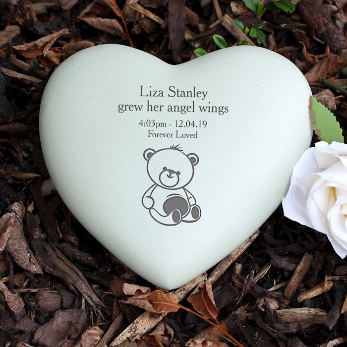 Teddy Bear Heart Memorial