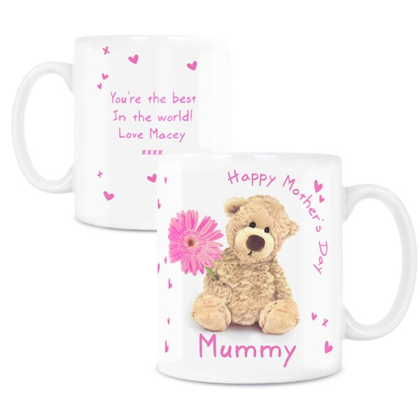 Teddy Flower Mug