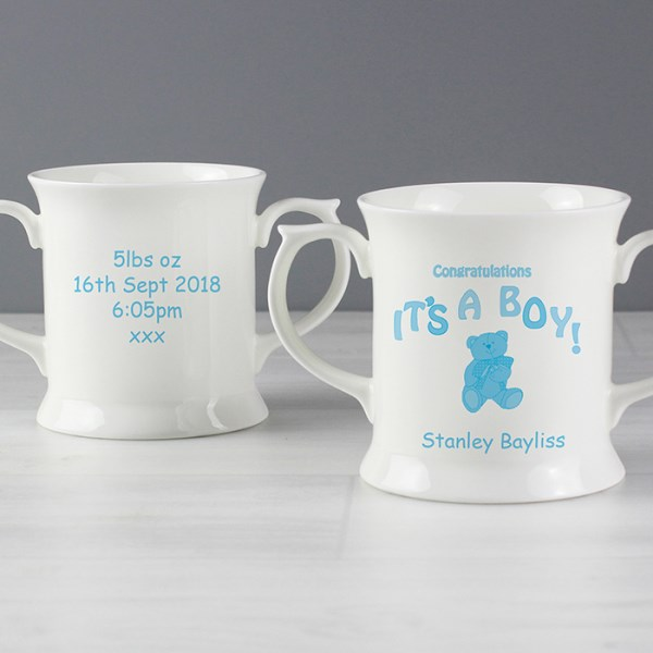 Teddy It's a Boy Loving Mug