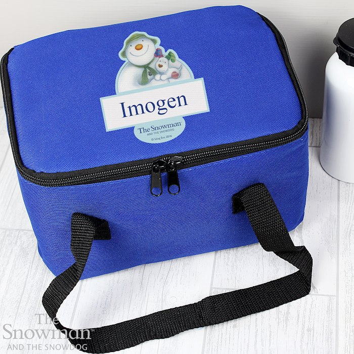 The Snowman and the Snowdog Lunch Bag