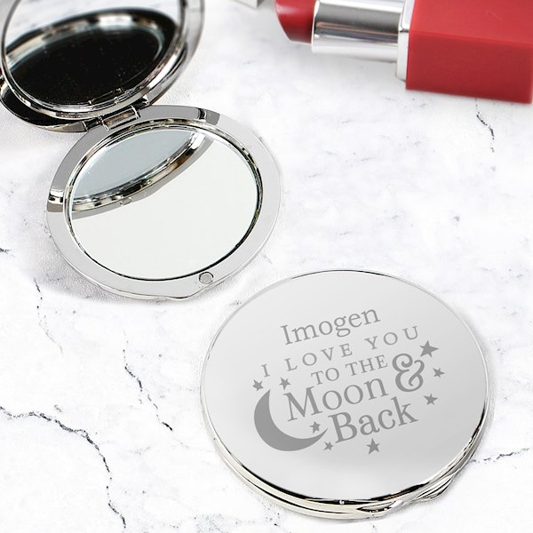 To the Moon and Back... Compact Mirror