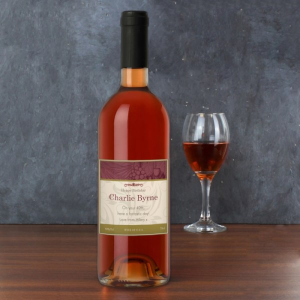 Traditional Rose Wine