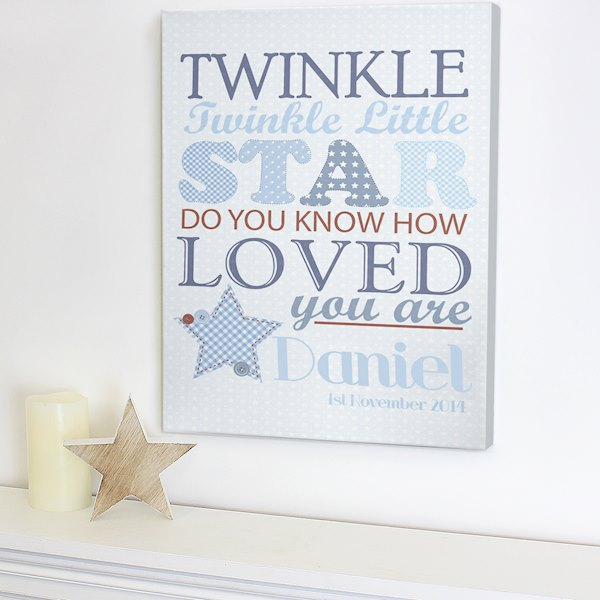 Twinkle Boys Canvas