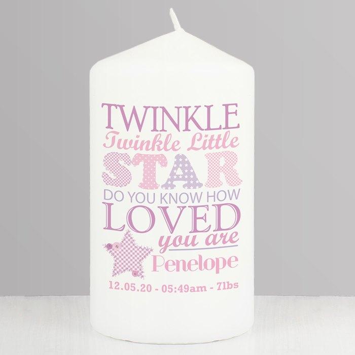 Twinkle Girls Candle