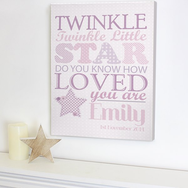 Twinkle Girls Canvas