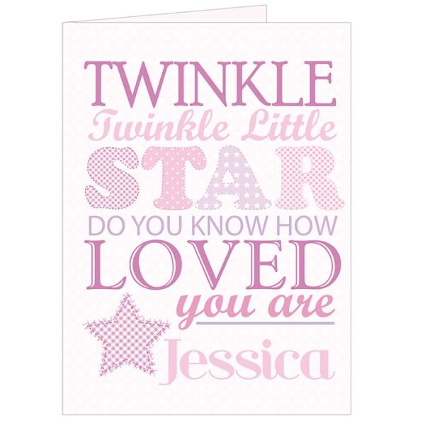 Twinkle Girls Card