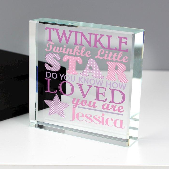 Twinkle Girls Large Crystal Token