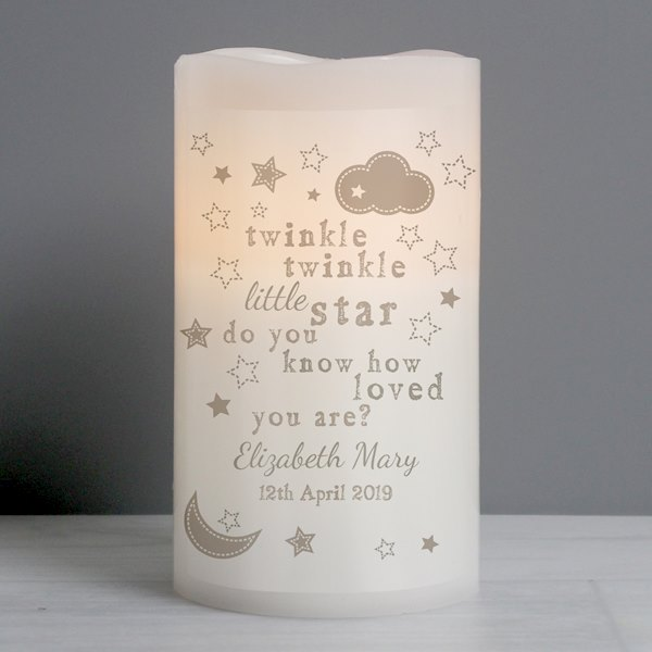 Twinkle Twinkle Nightlight LED Candle