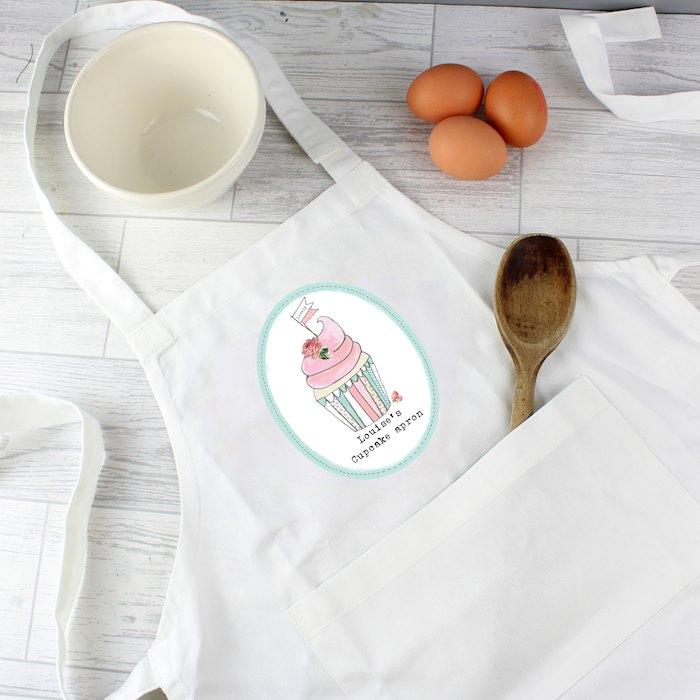 Vintage Pastel Cupcake Children's Apron