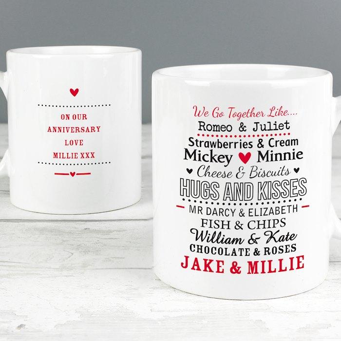 We Go Together Like.... Mug