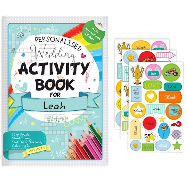 Wedding Activity Book with Stickers