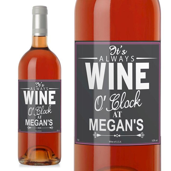 Wine O'Clock Rose Wine