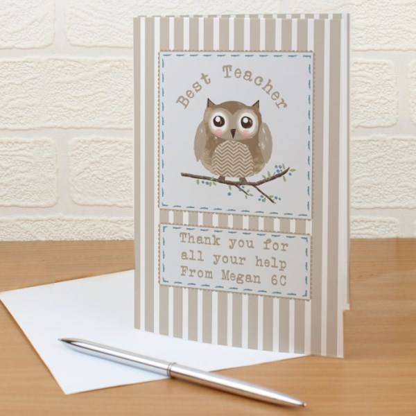 Woodland Owl Card