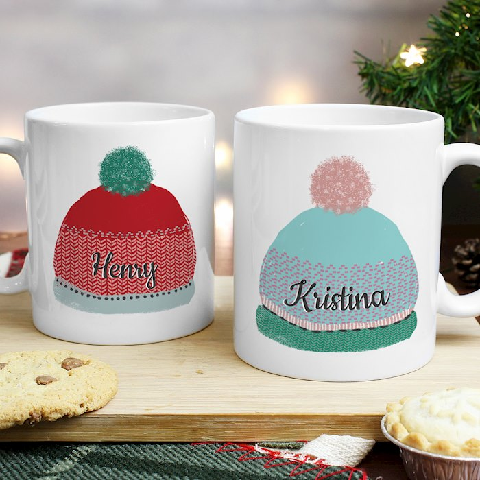 Woolly Hats Mug Set