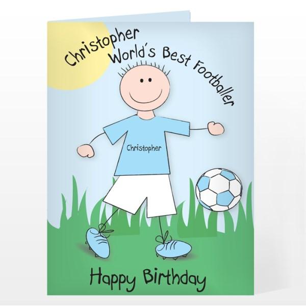 World's Best Footballer Card