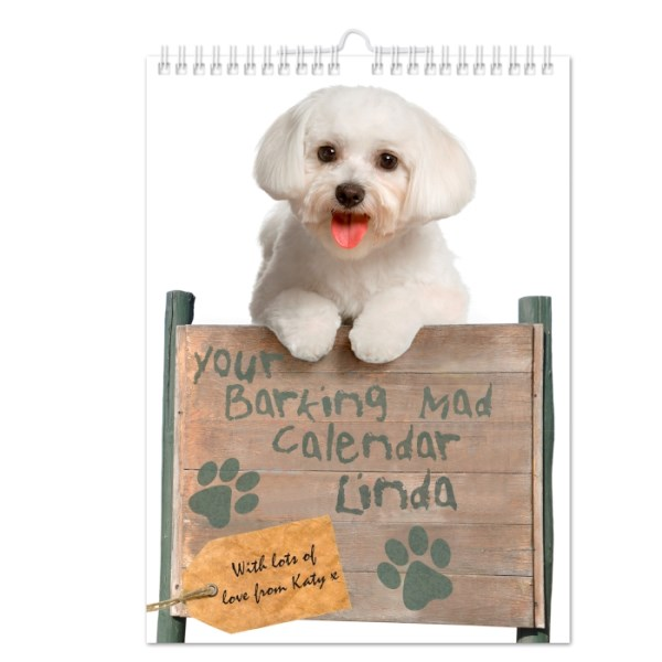 Your Barking Mad A4 Wall Calendar