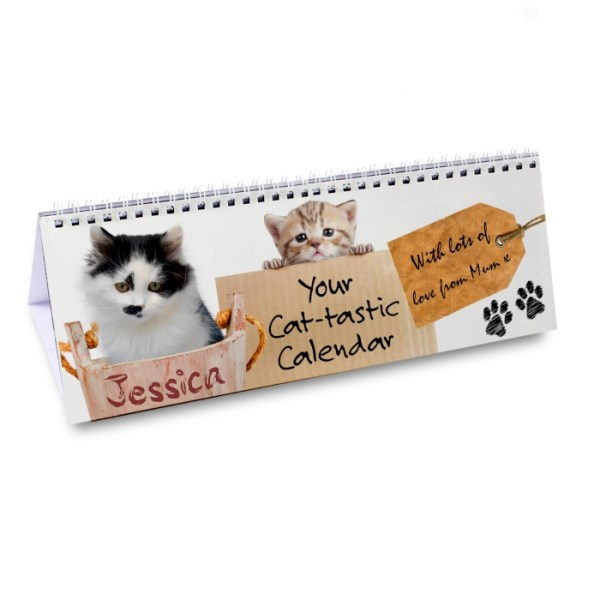 Your Cat-tastic Desk Calendar